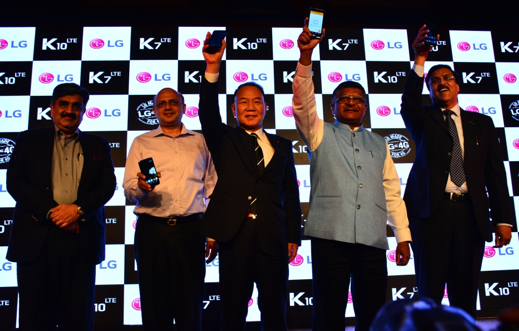 LG launches K7 & K10 in India