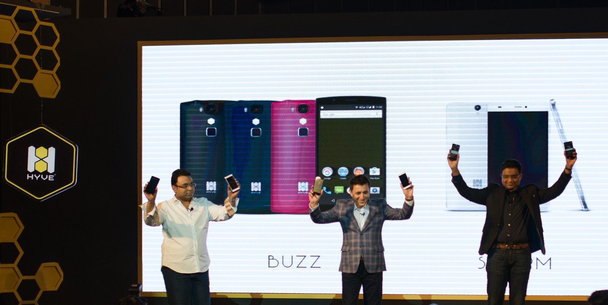 Hyve Phones launch