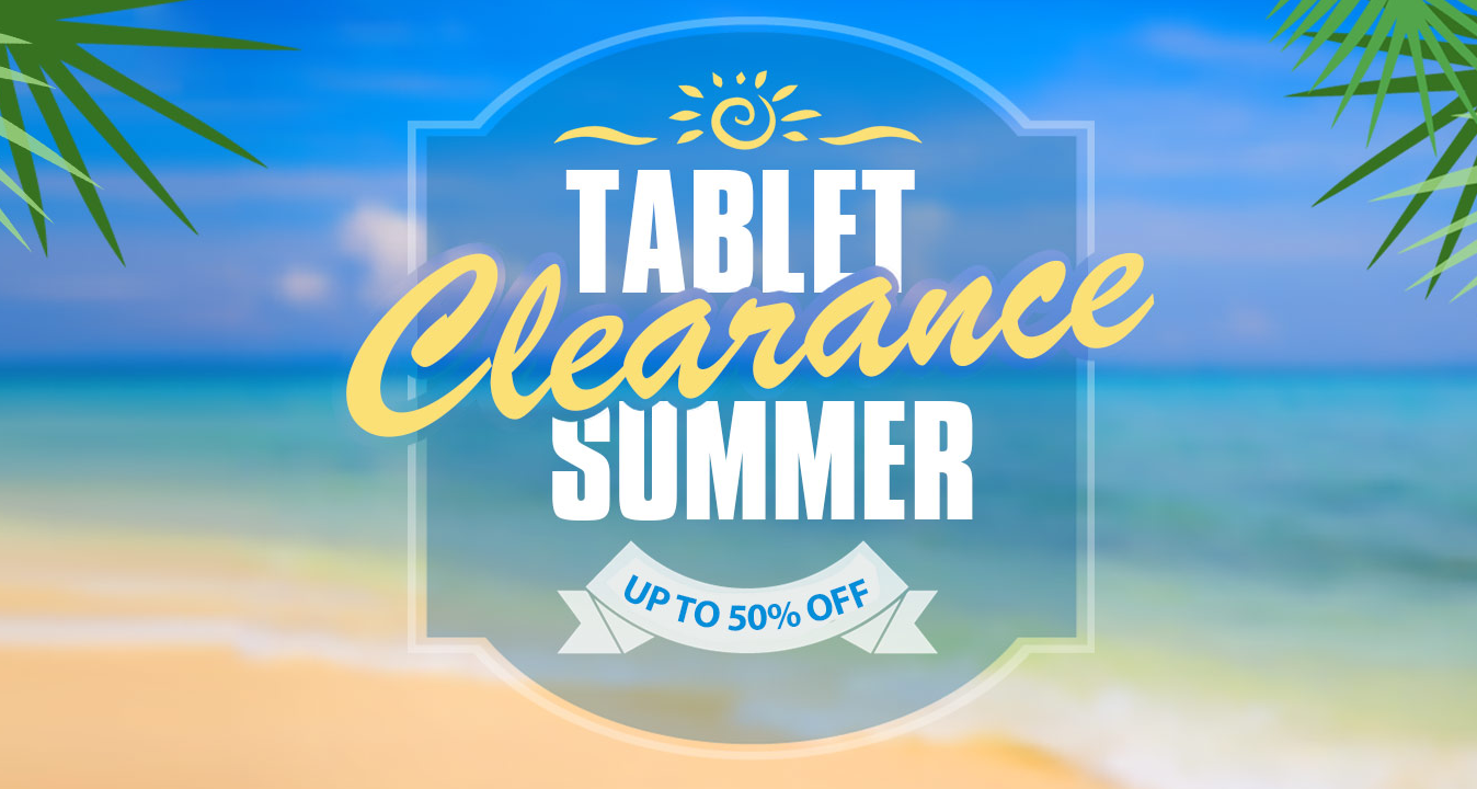 Discounts in Summer Sale on Tablets - Gadgetscanner