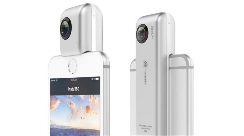 Insta360 Nano 360 degree camera for iPhone