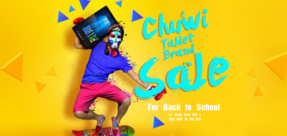 Chuwi Back to School Sale on GearBest