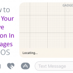 How to Share Your Live Location In Messages On iOS