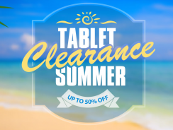 Discounts in Summer Sale on Tablets