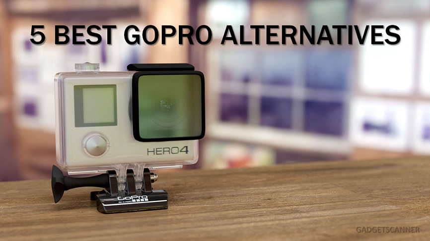 5 gopro alternatives