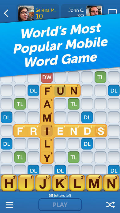 Words With Friends for imessage