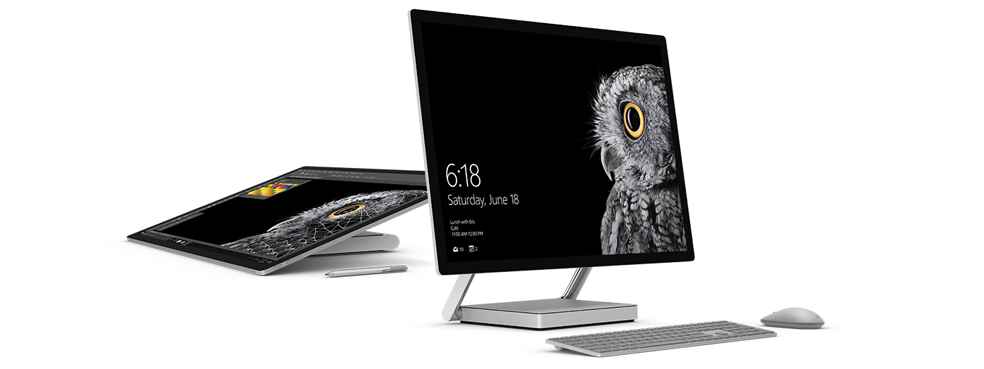 Meet Surface Studio, Microsoft's New all-in-one PC