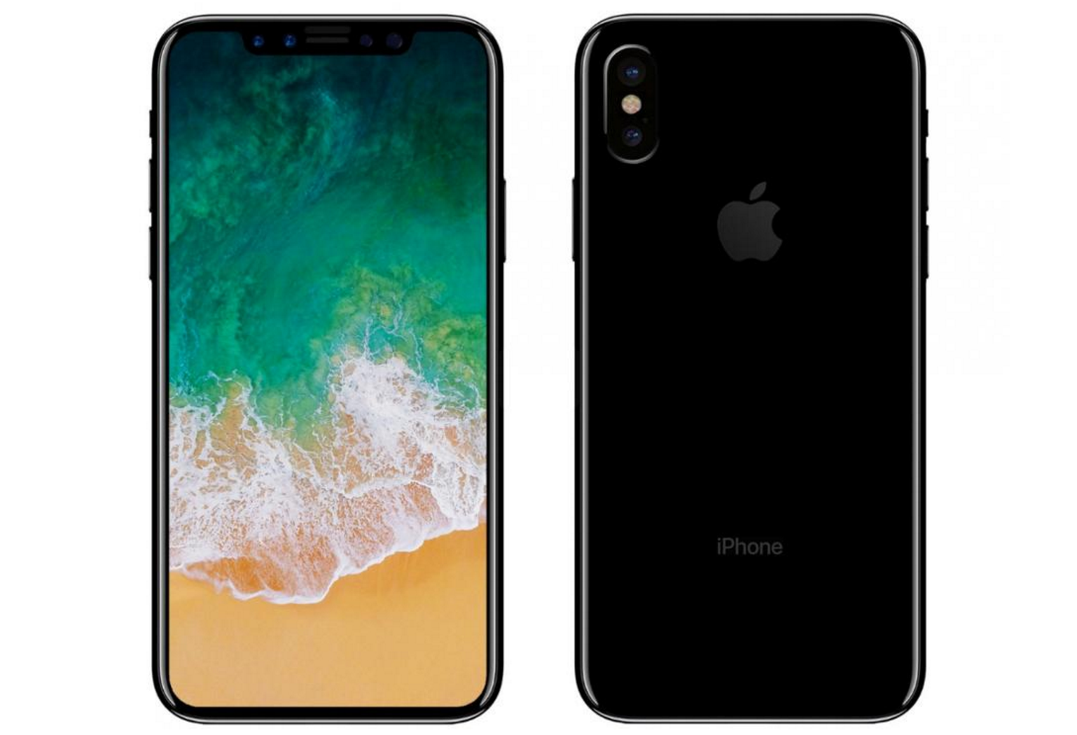 Apple Iphone 8 Design Back And Front