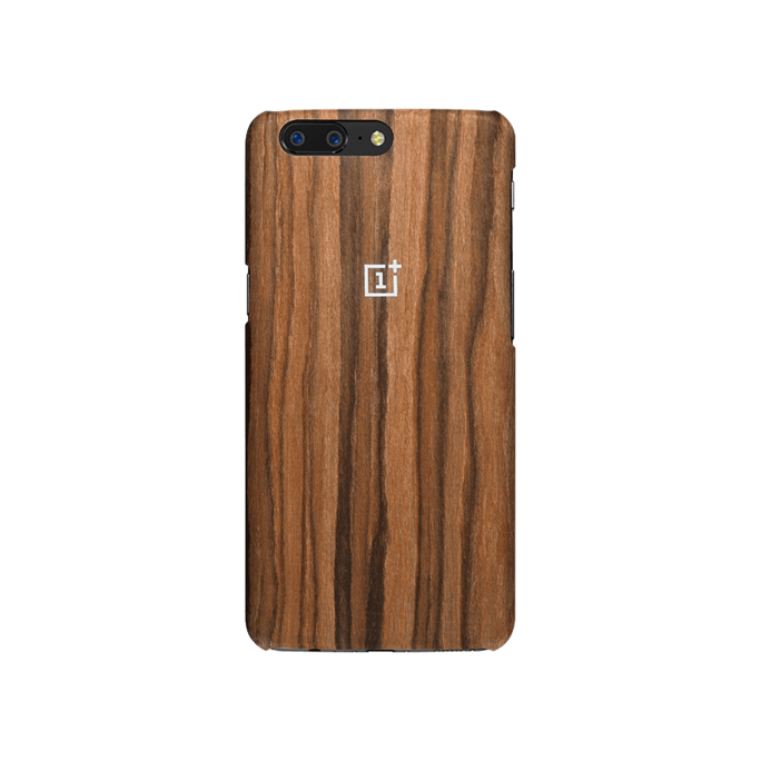 OnePlus 5 rose wood case