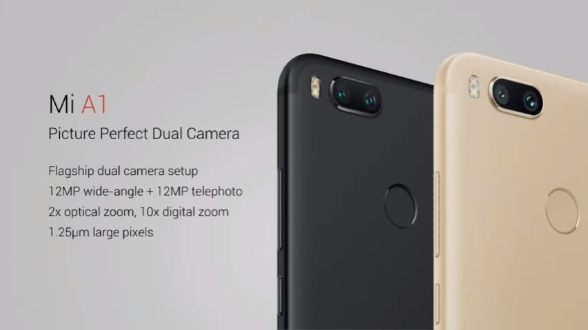 Android, buy Mi A1, Mi A1, Mi A1 launch, Mi A1 launch in india, Mi A1 price, Mi A1 price in india, Mi phone with stock android, Xiaomi, Xiaomi Mi A1
