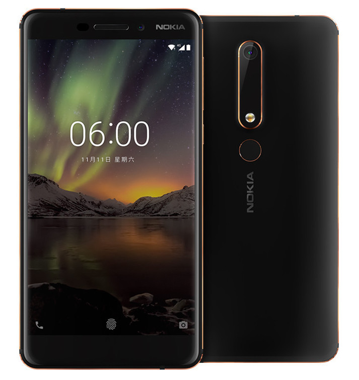 Nokia 6 2018 With 5 5 Inch 1080p Display 4gb Ram