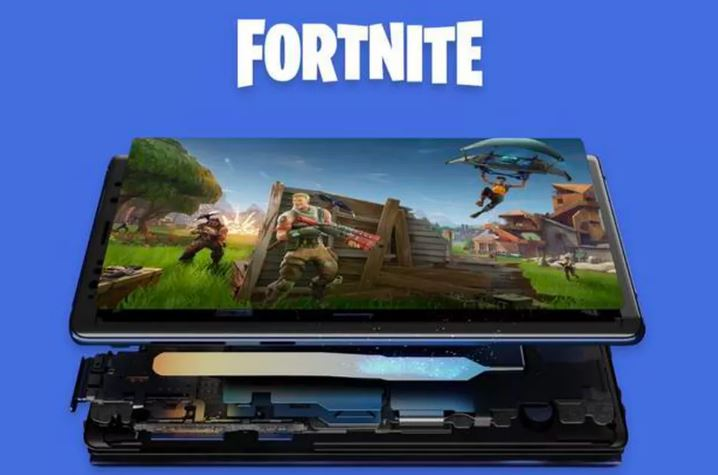 fortnite, fortnite on android, fortnite on samsung galaxy note 9